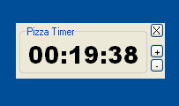 countdown timer pizza alarm sound alert